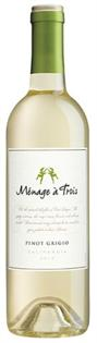 Menage A Trois Pinot Grigio 2012 750ml - Case of 15